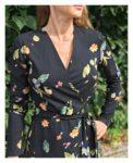 Sukienka kimonowa Eva Black