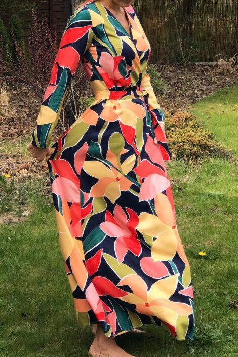 Sukienka kimonowa Eva