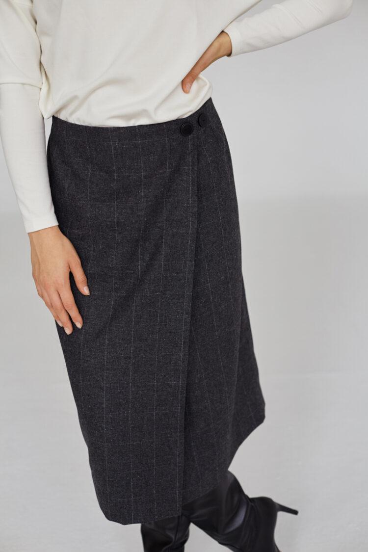 Spódnica wełniana Niceta