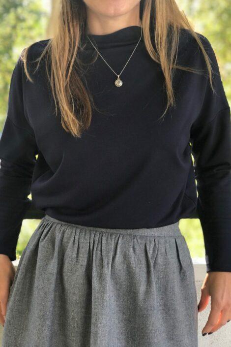 Bluzka Punto Granat 1