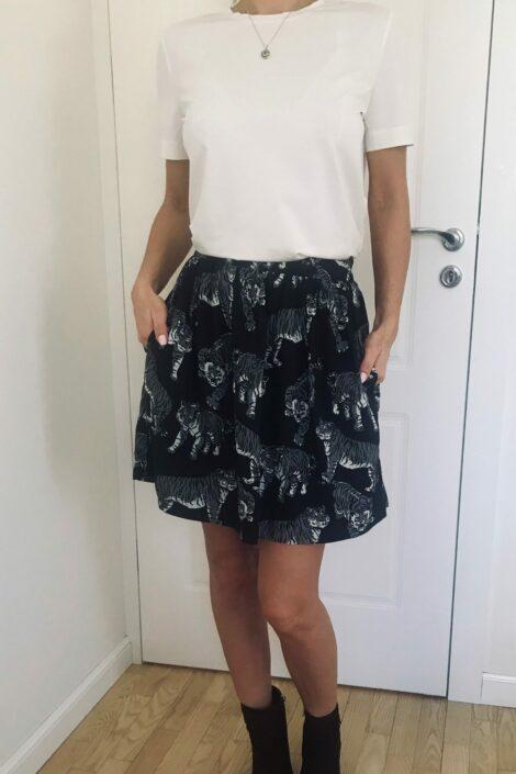 Spódnica Tygrysy MINI Khaki