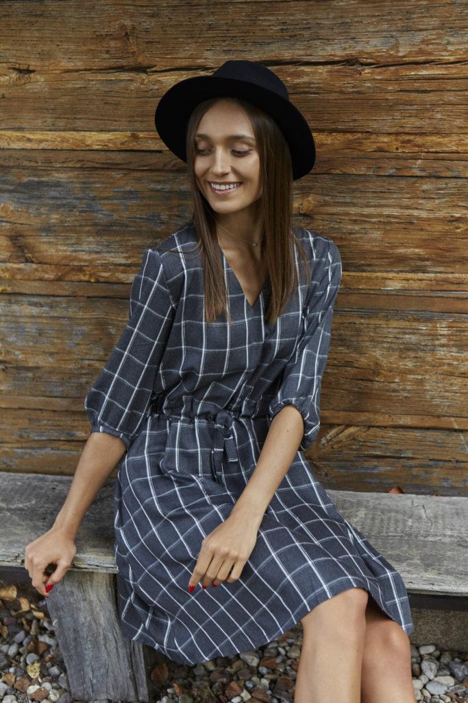 Sukienka Paloma Grafit